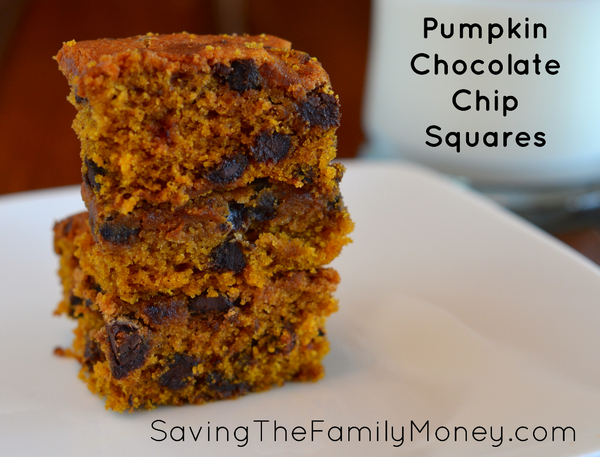 Pumpkin Chocolate Chip Squares http://t.co/ESwtwGnqRv #recipes http://t.co/fsjdKVvD0a