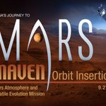 RT @NASA: LIVE NOW: #MAVEN is in #Mars orbit. Hear more during our news conference: http://t.co/TZKSZN8lbU Ask Qs: #askNASA http://t.co/5PT1kEvvsS