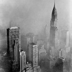 RT @NewYorkologist: Lincoln Building and the Chrysler Building Surrounded by Fog, 1953   #NYC #NY http://t.co/7ZacjM1Evf