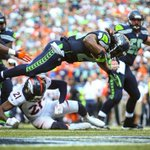 RT @joshtrujillo: Photo: Marshawn Lynch ends the game against the Broncos with a leaping touchdown. #SEAvsDEN #seahawks #12thMan http://t.co/nKpJp5JWY1