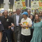 RT @BilldeBlasio: Joined the #PeoplesClimate march—because we only have one planet, and we need to take care of it. http://t.co/SLtpNOEQmb