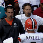 RT @BleacherReport: Browns coaches faked an argument with Johnny Manziel before he ran a receiving route http://t.co/azJpV4ZAq6 http://t.co/SjbcTdcB6K