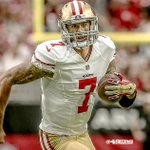 RT @49ers: Despite defeat, QB @Kaepernick7 was back in his element w/ zone-read, five-WR schemes. READ: http://t.co/q3AWxAA8Hs http://t.co/1Nhw5REfkQ