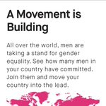 Take our pledge and put your name on the @heforshe worldwide map. http://t.co/cl76Voh0D0