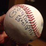 RT @SFGate: #SFGiants rookie hits first HR, finds touching message from fan on the ball: http://t.co/OtfF9GkXw3 http://t.co/lt0pYc4Uib