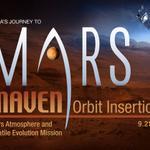 RT @NASA: LIVE NOW: NASA TV coverage for @MAVEN2Mars ~9:50am ET orbital insertion. Watch now: http://t.co/9TS5ChZBMK http://t.co/TzRSGflTz3