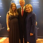 RT @ChelseaClinton: My parents & I before tonights amazing Clinton Global Citizen Awards. What a great start to #CGI2014! http://t.co/BTfBjJbV7U