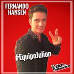 RT @LaVozMexico: Bienvenido @hansenflores a #LaVozMexico y al #EquipoJulion del coach @julionalvarez83 #LoMejorDeLaVoz http://t.co/i0Pn8kXJFz