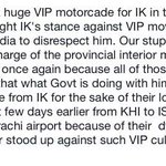 RT @ShabanaFaryal: Why Sindh govt provided security, despite IKs own security of 600 @ISFofficial boys #PTI4Karachi #Karachiites4PTI http://t.co/qleZ4wyHXr