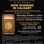 RT @TheProphetca: If u want to stop #YouthRadicalization by #ISIS you must educate yourself first. #TheAstonishingStory coming to #YYC http://t.co/uPECEpLkFT