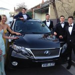 Going to the Brownlow in style, with Toyota @Toyota_Aus #ohwhatafeeling ???? ???? http://t.co/7t5etNeA6s