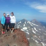 "One, two, three..say ""Z-21!"" News ladies conquer South Sister. #ktvz @SamanthaKTVZ @MeganKTVZ #inbend #SouthSister http://t.co/YVDLHqqJGO"