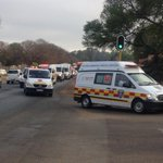 #Nigeria ambulances arrive at the Swartkop Airforce Base http://t.co/L366hp85c7