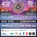 RT @wabusinessnews: NOMINATIONS FOR 2015 40UNDER40 AWARDS ARE NOW OPEN! http://t.co/jLMGiU2iGW #Perth #40under40 #Business #News #Awards http://t.co/Z0R76naHDc