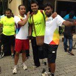 RT @vishutom: His goal is to represent prosthetic Olympics #sowrun @XperienceWipro #Respect