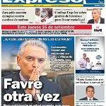 RT @ExpresoPeru: Nuestra portada impresa 22 de Setiembre 2014   Diario Expreso http://t.co/wrIj1hp5Fk http://t.co/q2VM33MtEU