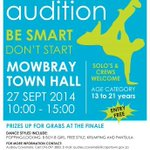 "Calling on all interested persons to audition in the ""Don't Start, Be Smart"" Hip Hop Dance Competition. http://t.co/1psxSvWRBg"