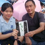 Cheung supports his daughter to join secondary school class boycott and #OCLP. http://t.co/0sQJNVNBqI http://t.co/LkCw6znJte