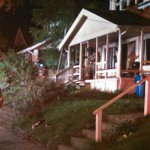 At an early morning house fire. Neighbors say resident jumped to safety. Working to get details. Live on @wzzm13 http://t.co/qXYMVO6eQO
