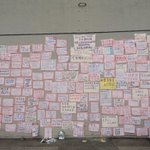 Justice will prevail, students wrote #hkclassboycott http://t.co/MkqDF0fW0L