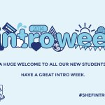 A massive welcome to everyone starting their Sheffield adventures today on Day 1 of Intro Week 2014 #shefintro2014 http://t.co/uyNAJnpPto