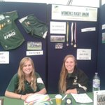 Come and talk to these friendly faces on our #UoNFreshersFair stall this morning http://t.co/soqMtu9o3a