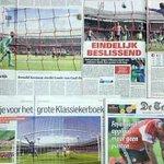 RT @AFCAjax: Een wonder zo is de mening vanuit de kranten ongeveer na de zege van #Ajax in de Klassieker: http://t.co/CvISi4NZWb http://t.co/4rD3TBwPBg