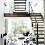 black, white & #wood, via Flickr - http://t.co/075xbAz76V #modern and #stylish with lots of #light #design #ILoveS http://t.co/GwJ0M7A1cG