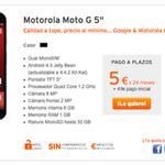 """¡Ya está aquí el nuevo Moto G 5""""! con Micro SD, Dual SIM y pantalla de 5 pulgadas ;D http://t.co/NQbtlJCf8w http://t.co/zccMdjzGte"""