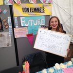 RT @UoNFeminists: Tell us how you see feminism at our freshers stand #UoNFreshers http://t.co/TagXulmWNe