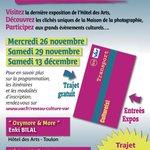 RT @VilleDeToulon: Le réseau VarLib vous emmène voir les expos toulonnaises! Et cest gratuit! #toulon #exposition http://t.co/bhzmTYb8jP