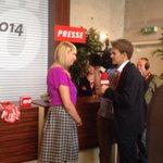 Wurde gerade vom ORF zur Vlbg Wahl interviewt. Thema: junge Wähler + SPÖ ... Tja. Mhm. #spoeklub http://t.co/fubPcLgDJ4