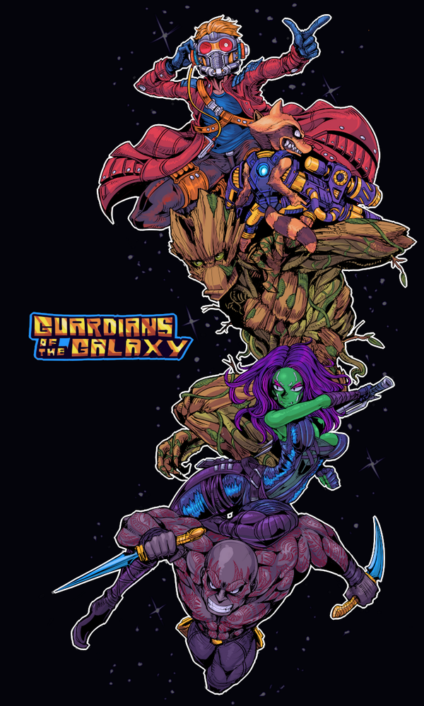 GUARDIANS OF THE GALAXY!! http://t.co/AW5Sp775Uw