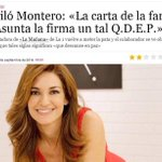RT @JuanGomezJurado: ¿El lunes te jode la vida? Mariló al rescate. (Vía @RaquelMartos) http://t.co/Zu5eVF6gtH