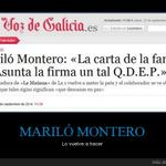 RT @cuantarazon: Mariló Montero lo vuelve a hacer http://t.co/ZwyzpMlCFd http://t.co/1TIxOxTOsO