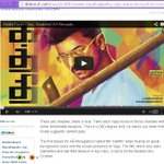 @ibnlive about #Kaththi Teaser There are shadows, there is dust. Tamil actor Vijay moves in those shadows.... http://t.co/wRIUB1yy96