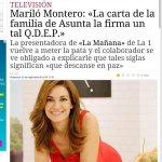 Mariló Montero. Again. http://t.co/IdHrjjfgu4