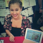 Katie posing with our new e-zine #UoNFreshers #wokeuplikethis #womensliberation http://t.co/uL28vyQtEs http://t.co/alphKSOWat