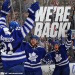 RT @MapleLeafs: WERE BACK!!!! #Leafs vs. #Flyers 7pm Leafs TV, @TSN1050Radio. #TMLtalk http://t.co/YHE0l6eJZR