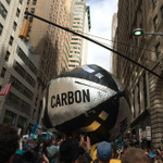 """RT @democracynow: The """"carbon bubble"""" makes its way up Broadway towards Wall Street at #FloodWallStreet http://t.co/fITGicJC3M http://t.co/pzNW1tyWja"""