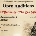 RT @GoldylocksUK: Open Auditions #Nottingham THIS SATURDAY for our alternative #Panto @nottartstheatre PLS RT! http://t.co/Sz6JeZEOUo