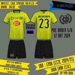 RT @ICI_Store: Via @ICI_Cibubur Open PO official jersey #ICI_Cibubur | closed 12 okt 2014 | Cp : @riyoape 0889-7762-7485 http://t.co/HpJaH0wDir