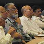 RT @DDNewsLive: Dr. Radhakrishnan, Prof. Rao, Dr. Ksturirangan watch successful test firing of Mars Orbiter Spacecraft LAM #ISROMOM http://t.co/ZbrI6yx73J