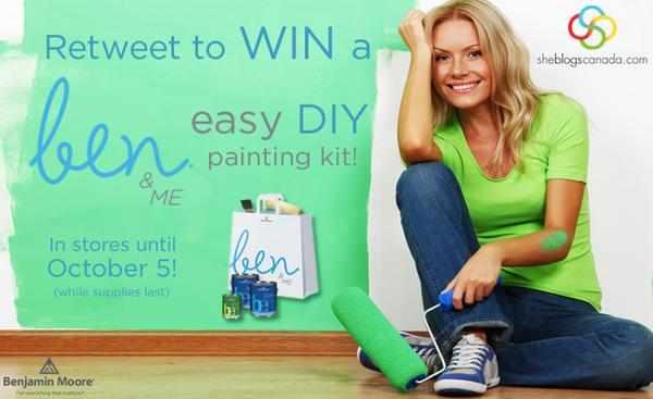 Retweet to WIN a ben & ME kit to create that I-can't-believe-I-did-it-myself space! #BenDIY http://t.co/2a2EAvQYBe http://t.co/RDCpVPL73z