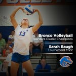RT @BroncoSports: Congrats to the #BoiseState VB team on an impressive performance this past weekend at the Islanders Classic! http://t.co/zerPI8honP