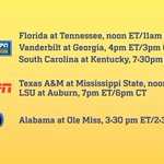 #SEC Football Game Times and TV Selections for October 4 announced: http://t.co/SBeNIJr2c8