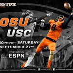 RT @OSUBeaversFB: It is officially USC game week. #gobeavs http://t.co/XapQhfmhha