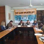 """Conferencia de prensa """"Aportes al discurso de @Ollanta_HumalaT en la Cumbre del Clima 2014"""" #SociedadCivil http://t.co/8UmsQ0Hyzb"""