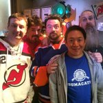 Monday morn finds me back to work at my other gig, wrapping Season 4 with the Men! @ComicBookMenAMC returns Oct 12th! http://t.co/PQsTyFLWZF