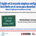¡Inscríbete en el curso de inglés para docentes! Modalidad virtual hasta el 29 de setiembre http://t.co/IhvYFQGJDu http://t.co/mITmtNoIME